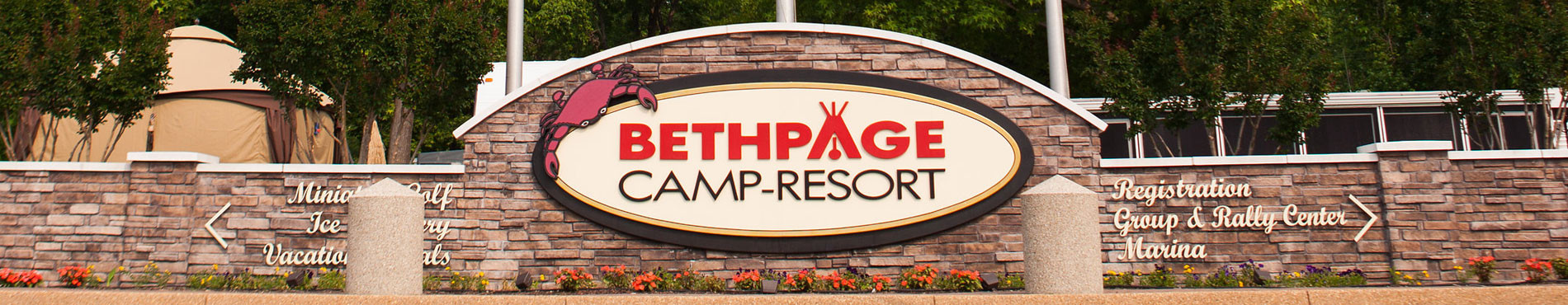 Bethpage Sign
