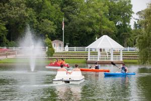 Kayaks and Paddleboats