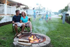 Cottage Campfire
